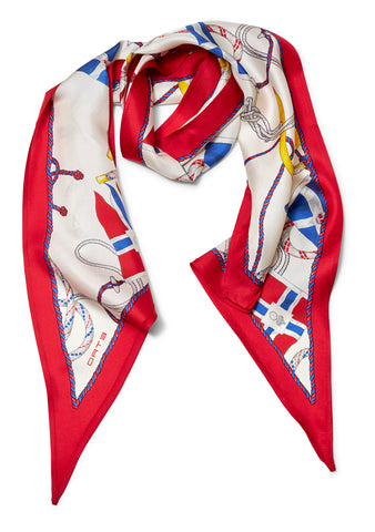 Iconic Silk Scarf