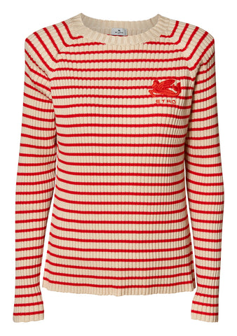 Striped Pegaso Sweater
