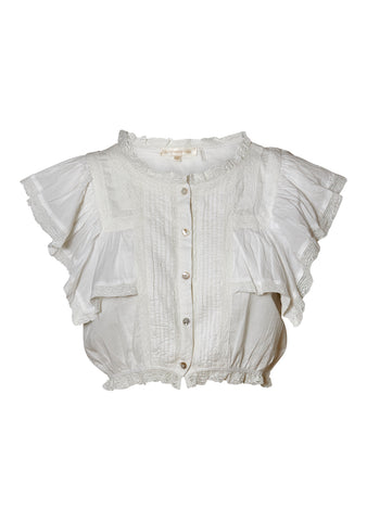 Nora Antique White Top