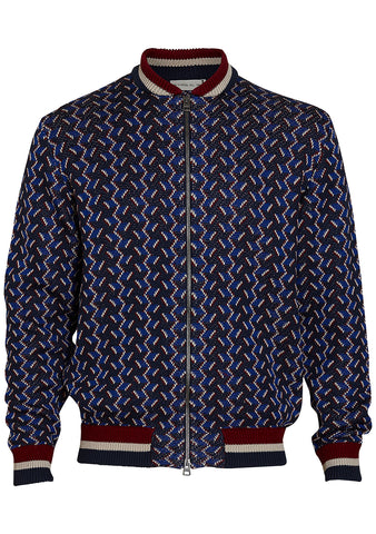 Etro Geometric Zip Cardigan