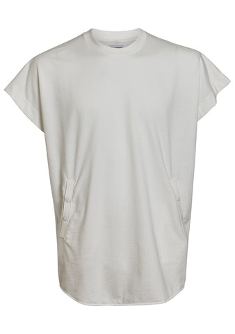 Muscle tee in off white