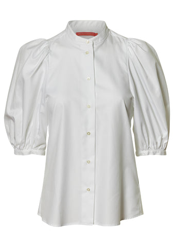 Dalia White Oxford Shirt