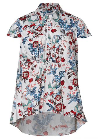 Clovelly White Blossom Shirt