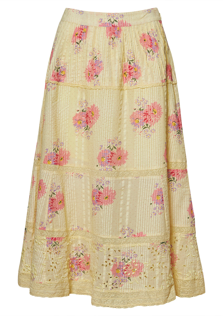 Hestia Mellow Yellow Skirt