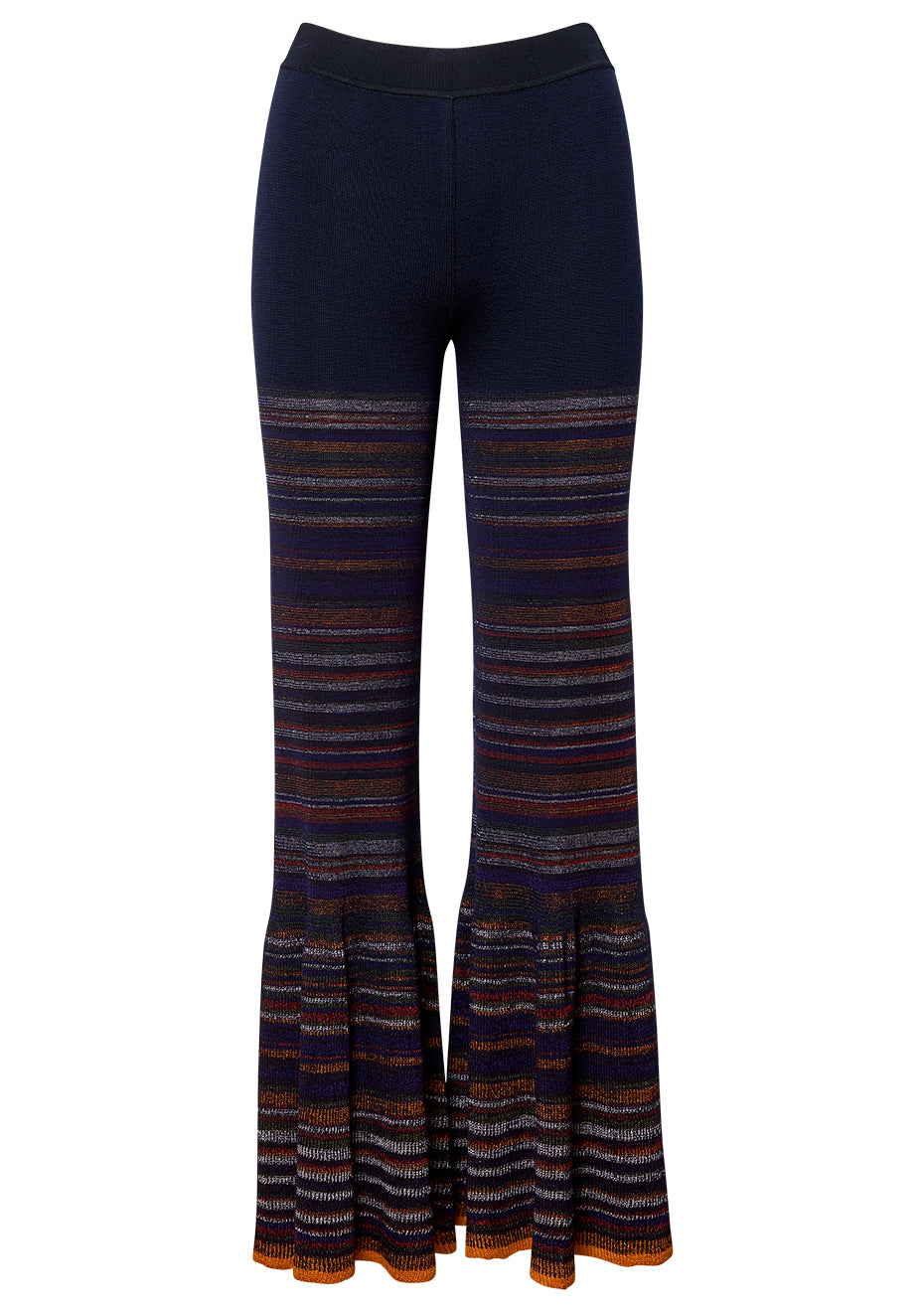Dark Purple Knitted Pants