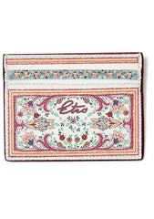 Paisley Printed Card Case