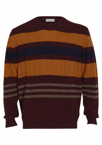 Etro Burgundy Cashmere Sweater