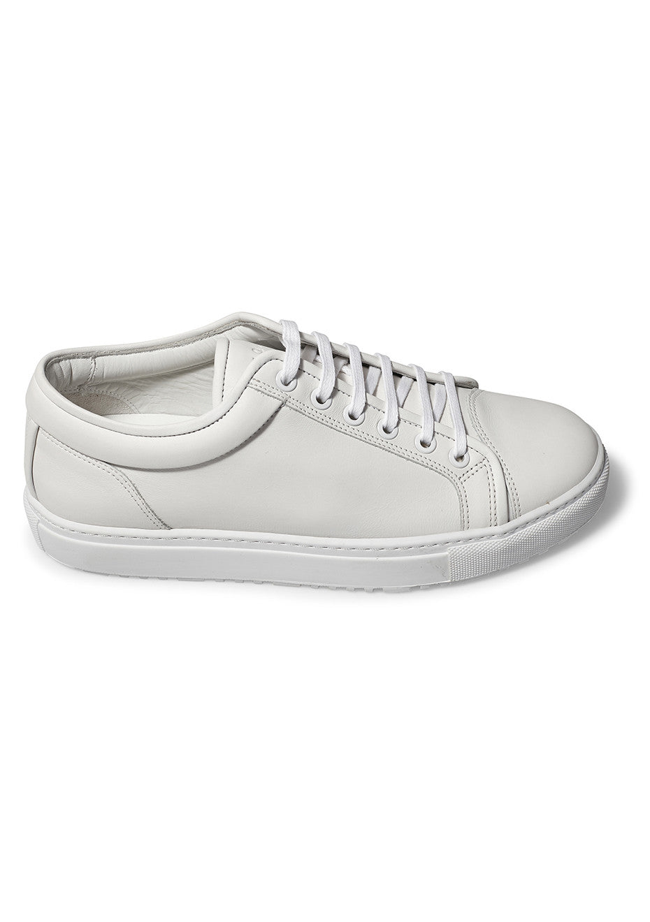 Low 1 White Sneakers