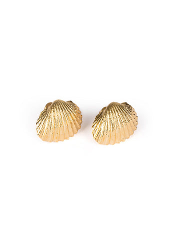 TOHUM Large Beach Shell Earrings