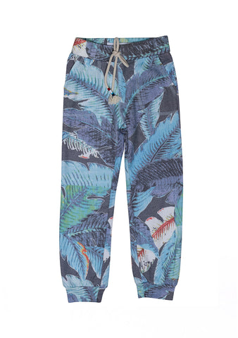 Sol Angeles Kids Lenai Leaf Print Pants