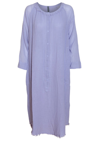 Lilac Gauze Joni Poet Dress