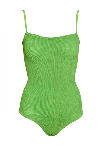 Hunza G Maria Swimsuit Lime