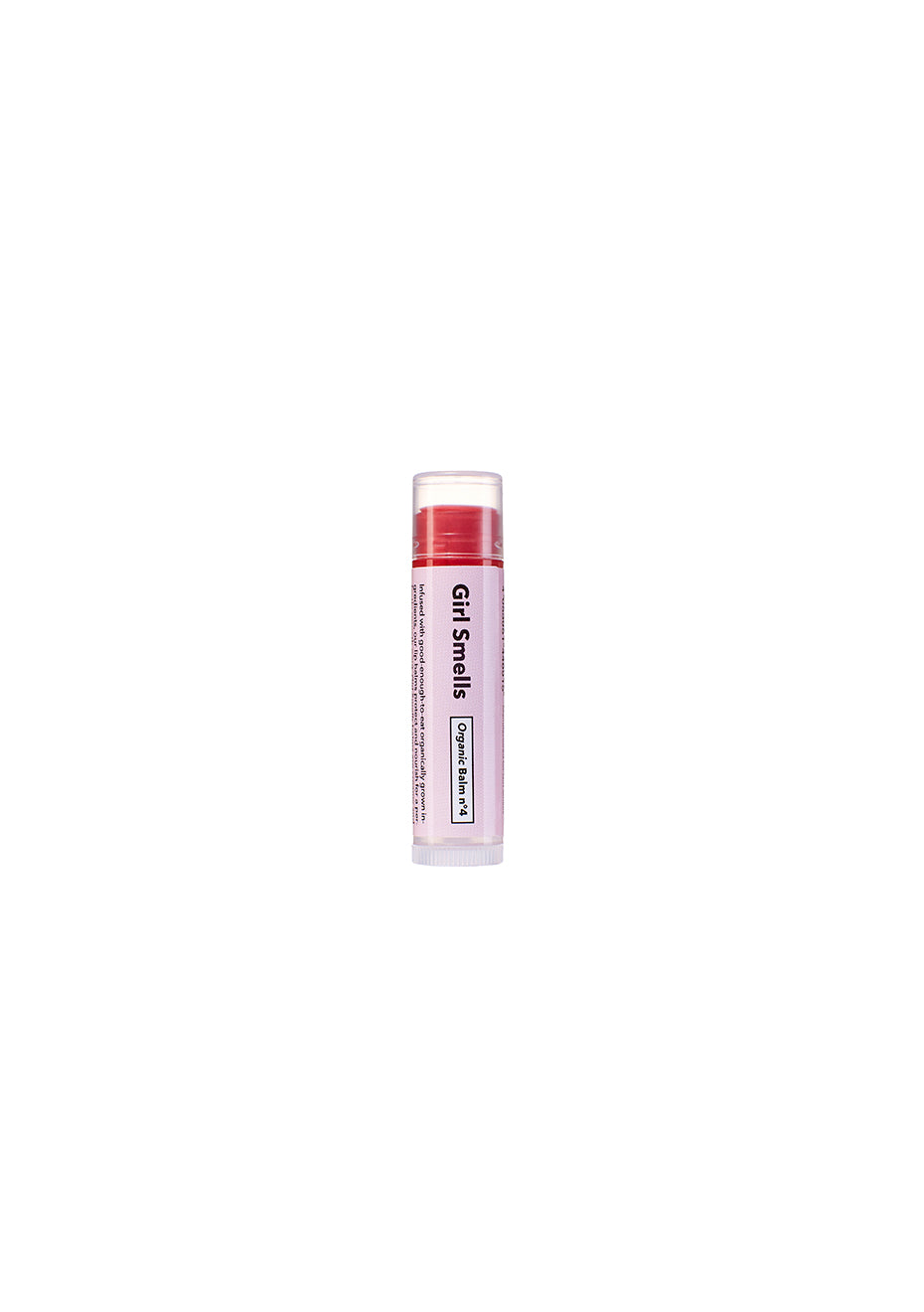 Organic Balm Tinted Red no.4