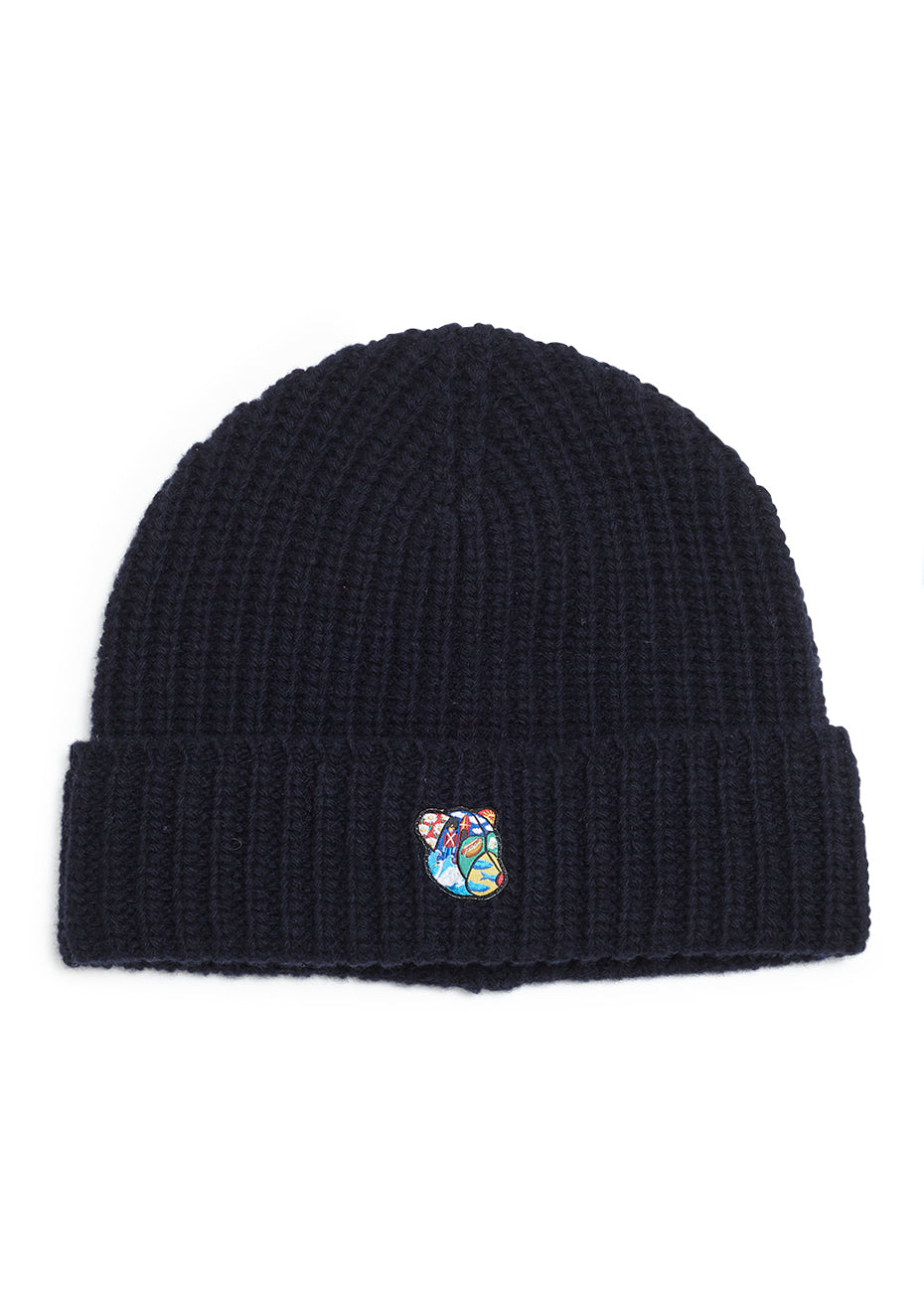 Navy Logan Knit Hat