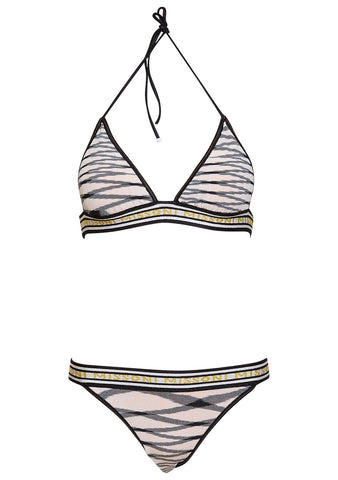 Missoni Mare Logo Band Triangle Bikini