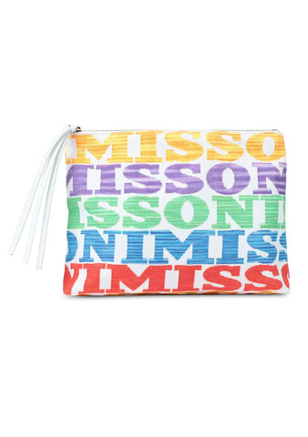 Missoni Mare Logo Clutch