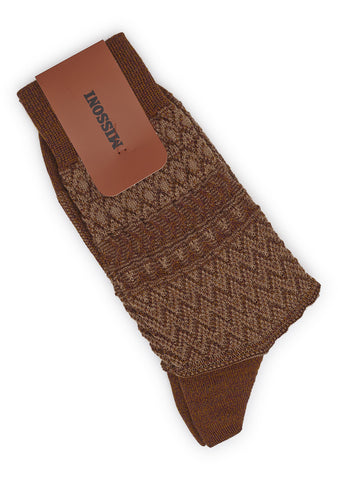Missoni Men Brown Socks