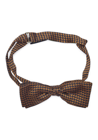 Geometric Pattern Bow Tie