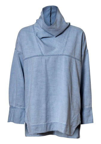 Fiamma Baby Blue Top