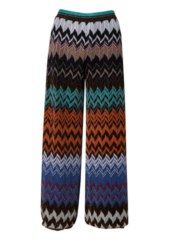 Multi-Colored Zig Zag Pants