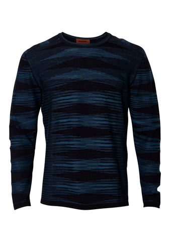 Striped Long Sleeve Crew Neck