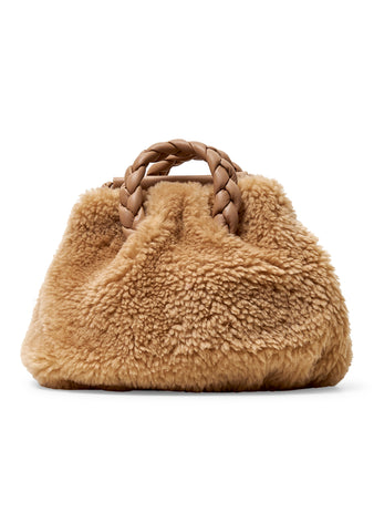 Bombon Shearling Crossbody Bag