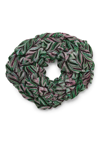 Green Glitter Scrunchie
