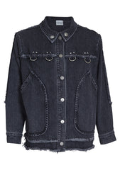 Rachel Comey Raw Edge Denim Jacket Sale