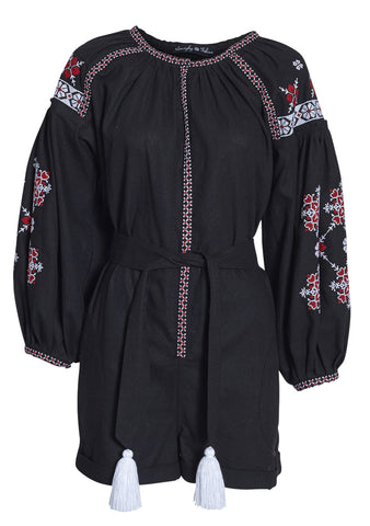 Varenyky Embroidered Jumpsuit