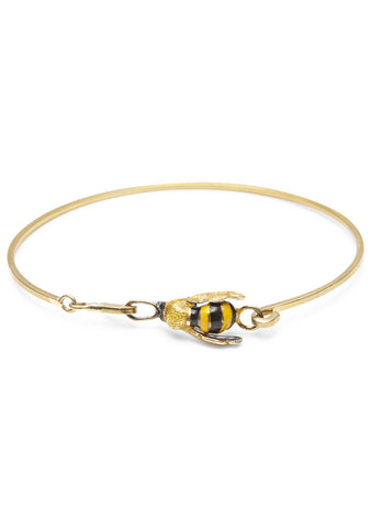 To bee or not to be enamel bracelet
