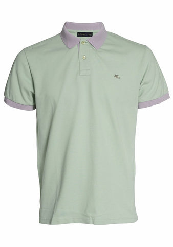 Etro Men Green Polo Shirt