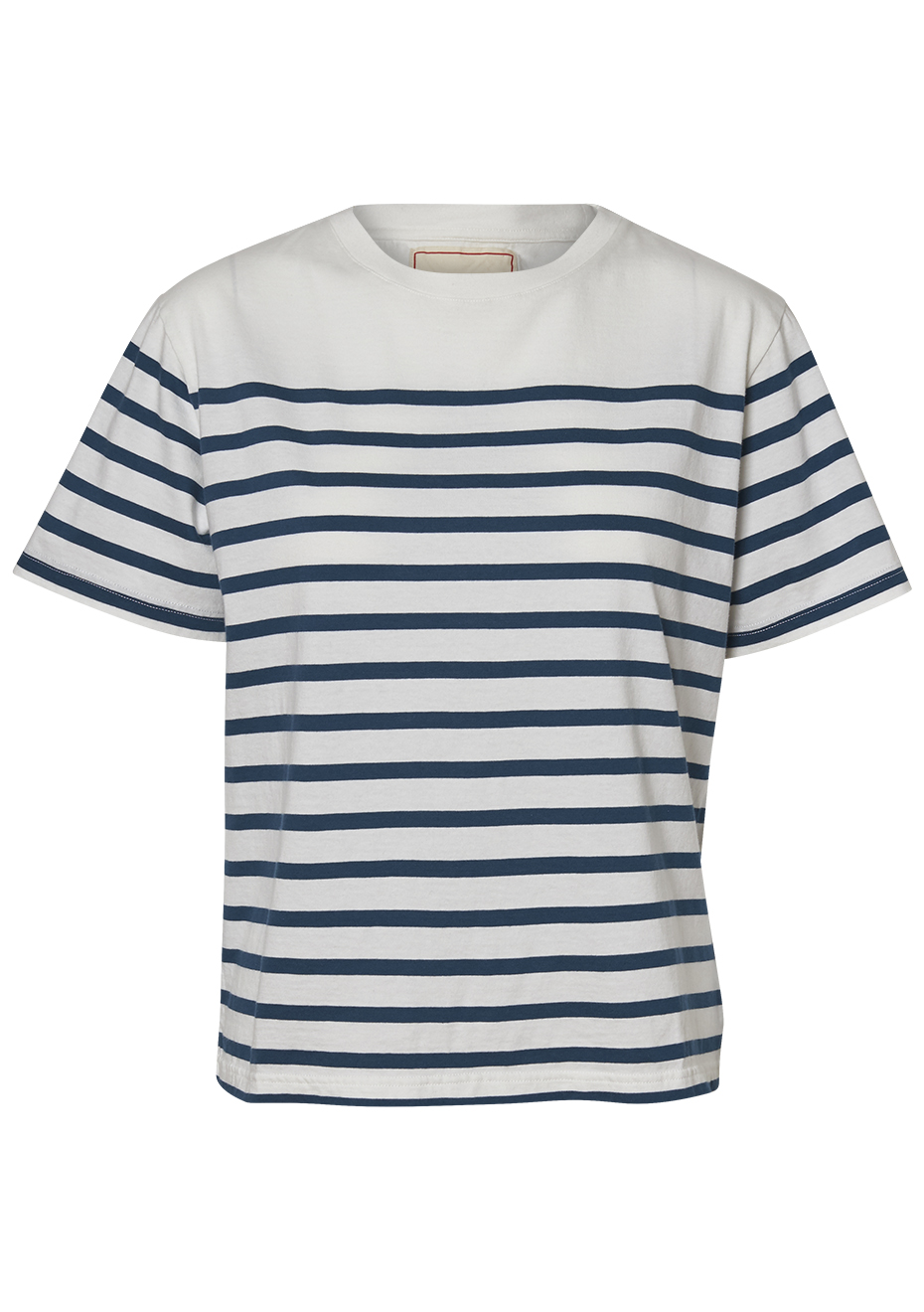 Luz 120 Navy Stripe Tee