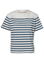 Jeanerica Luz 120 Navy Stripe Tee shop at lot29.dk