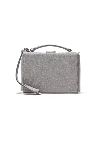 Mark Cross Silver Grace Mini Box Bag
