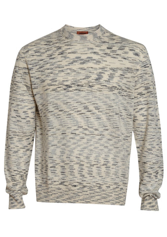 Missoni Men White Crewneck Sweater