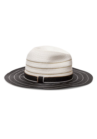 Missoni Mare Striped Panama Hat