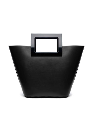 Riviera Black Leather Bag