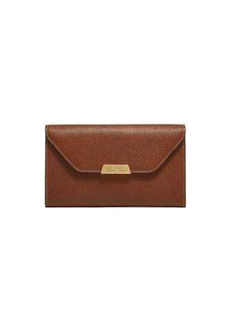 Mark Cross Acorn Hadley Flap Wallet
