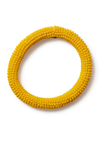 Aprosio & Co. Mat Yellow Bracelet