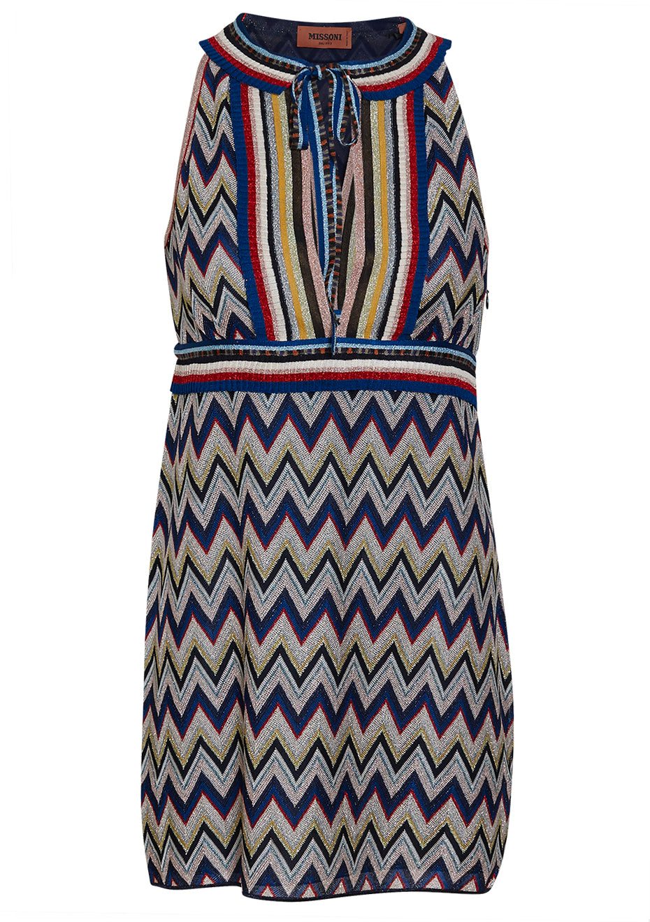 Zigzag Mini Dress