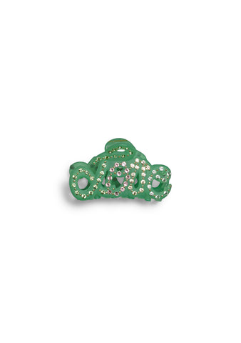 MC Davidian Pastel Green Love Mini Hair Clip