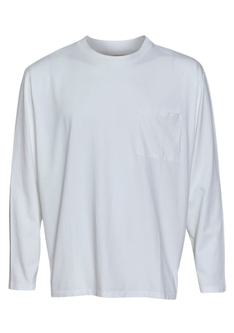 Jeanerica Mino 180 White Men's Tee