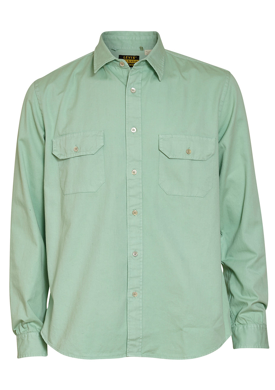Vintage Clothing Tab Twill Shirt