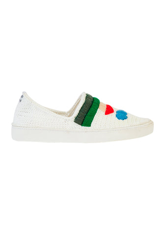 Mira Mikati x Amrose Happy Crochet Trainers