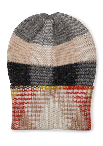 Missoni Checked Beanie Hat