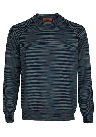 Missoni Men Striped Wool Sweater Pre Fall 2018