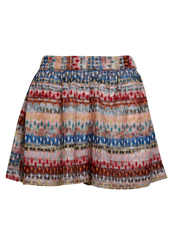 Missoni Mare Multicolored Knit Shorts