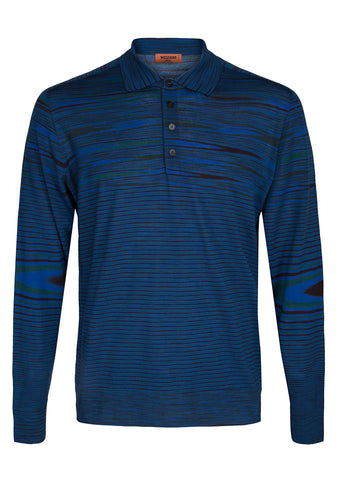 Missoni Men Striped Polo Shirt Pre Fall 2018