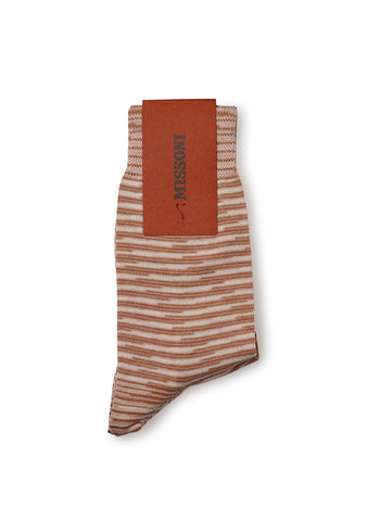 Missoni Beige Knitted Socks