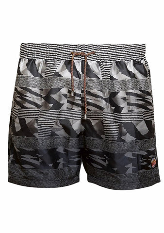 Missoni Mare Black & White Swim Shorts